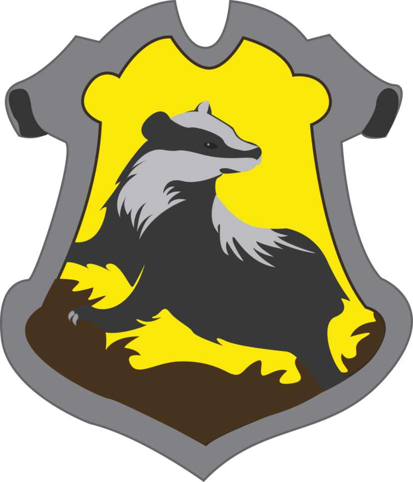 png royalty free Vector crest simple. Hufflepuff by jendrawsit on