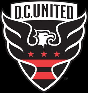 banner free Vector crest svg. D c united logo