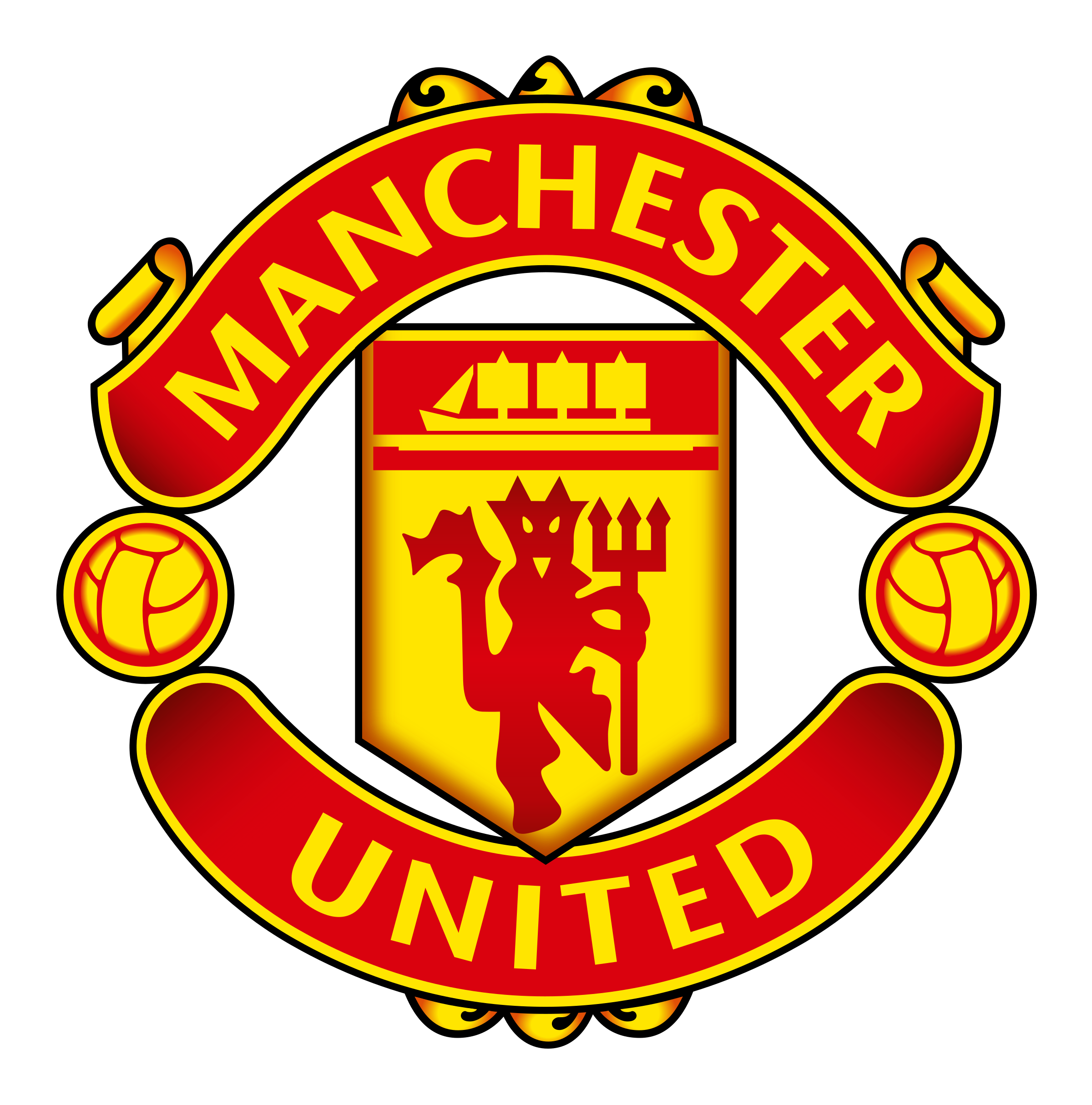 picture royalty free Manchester united logo png. Vector crest svg