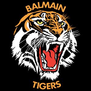 clipart transparent Balmain tigers logo ai. Vector crest tiger