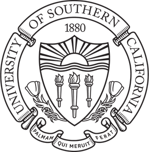 clip library Of southern california seal. Vector crest university