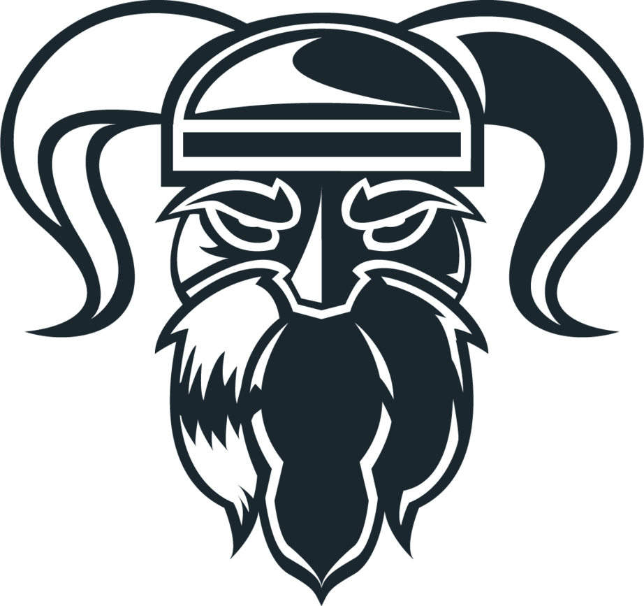 png transparent Logo concept by raindropsdesign. Vector crest viking