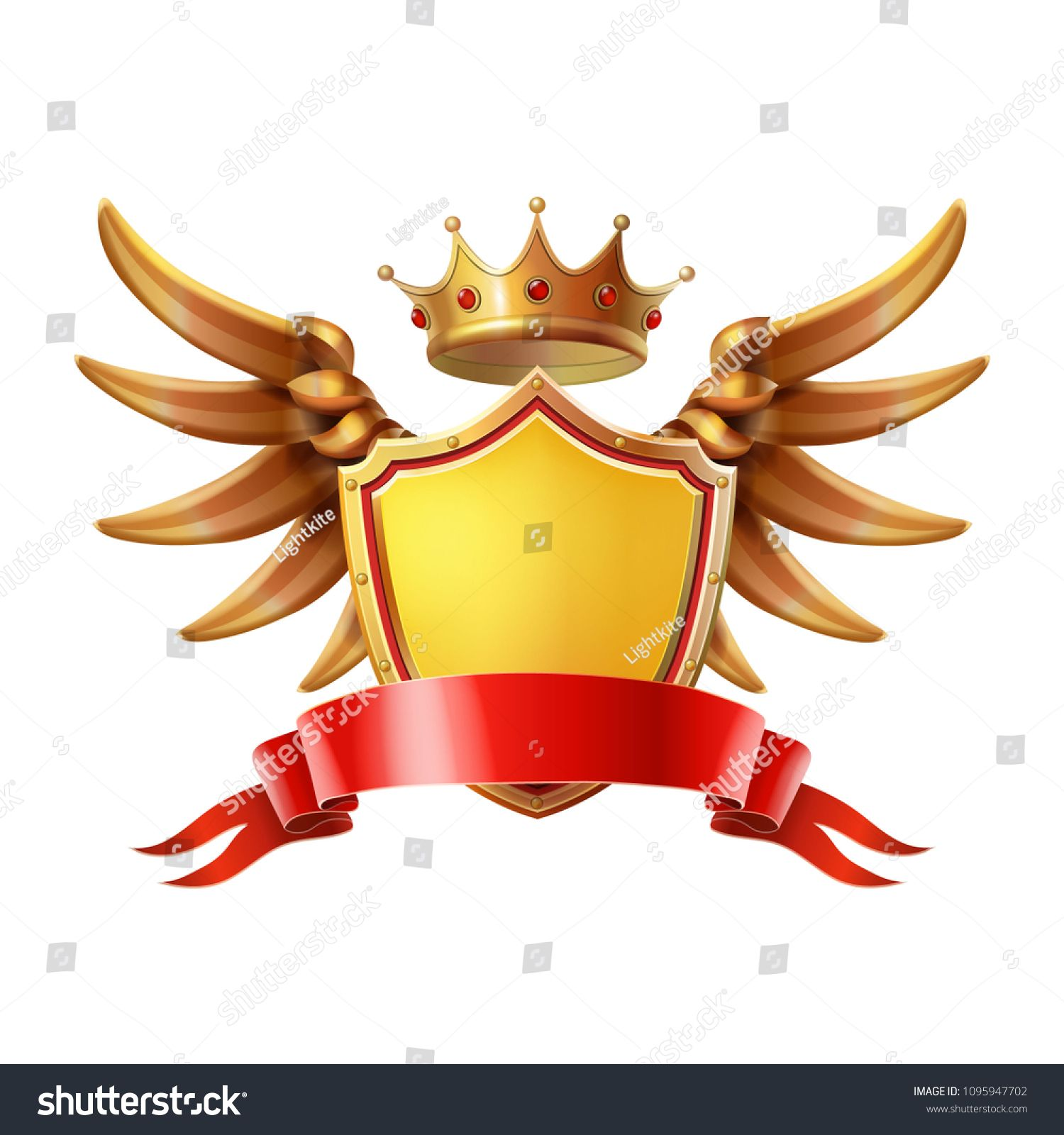 png freeuse Vector crest weapon. Coat of arms golden