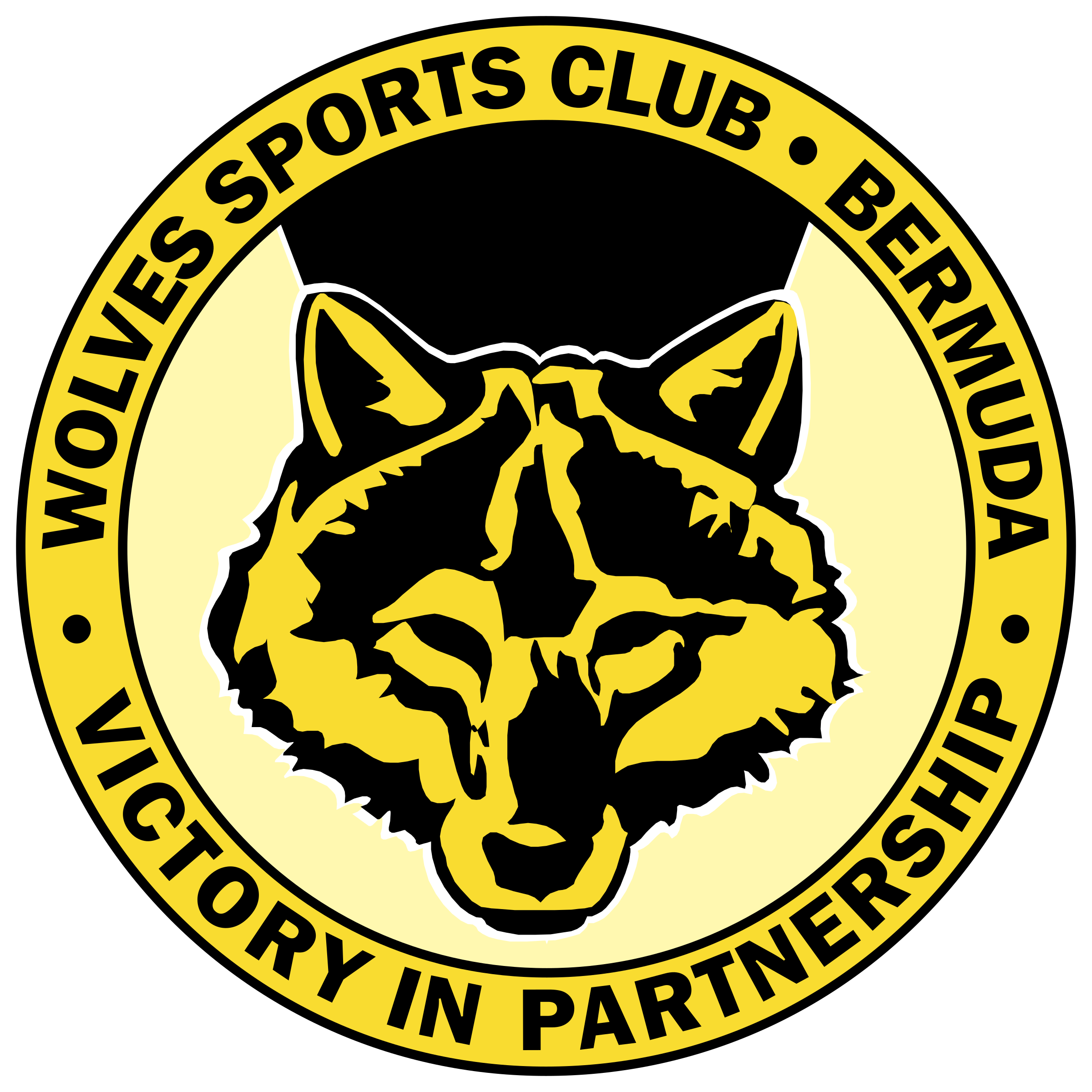 jpg stock Wolves sports logo png. Vector crest wolf
