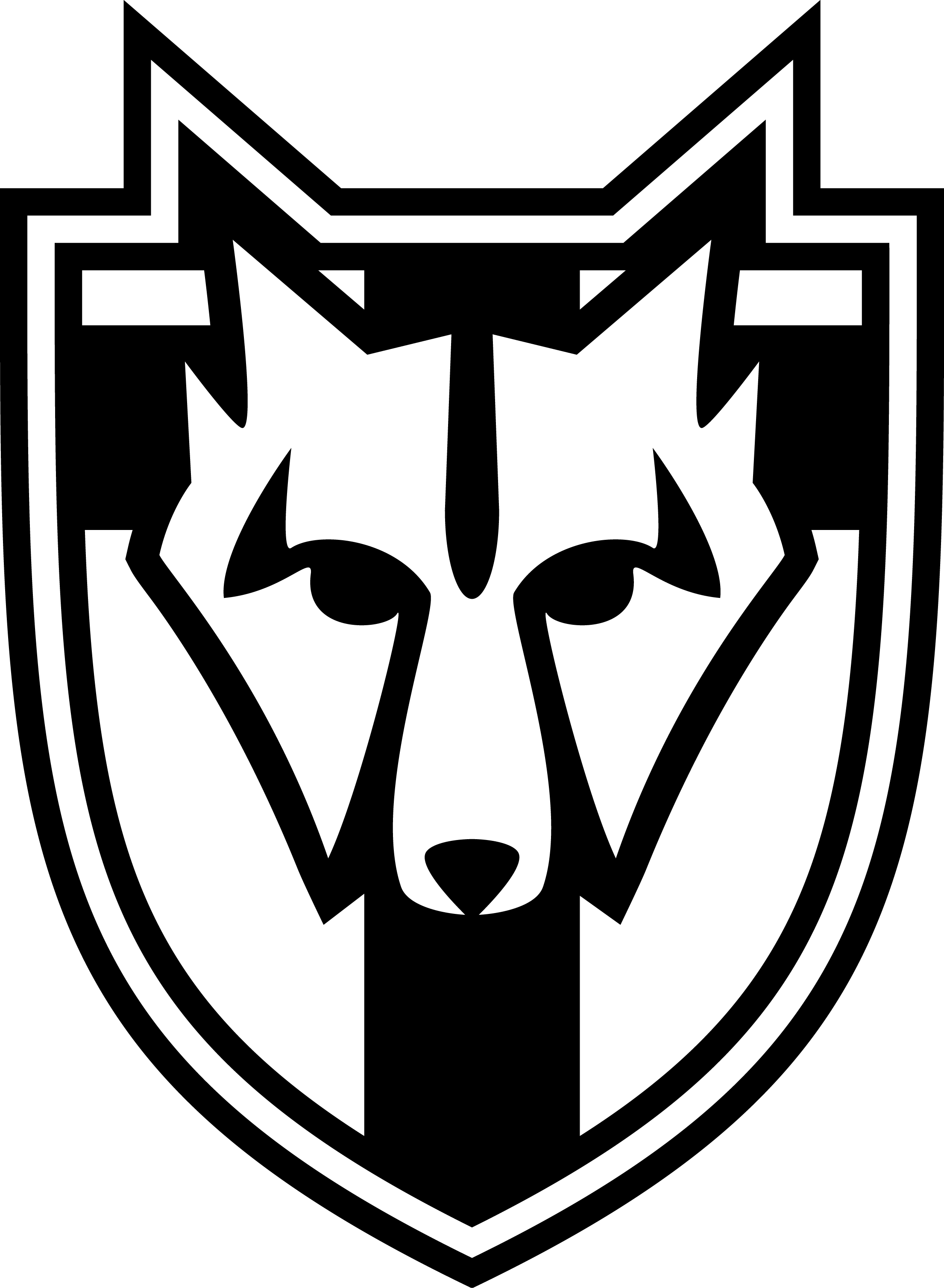 graphic black and white download The Elder Scrolls V Skyrim Solitude Symbol by Titch