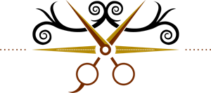 vector royalty free Hair Cut Logo Vector