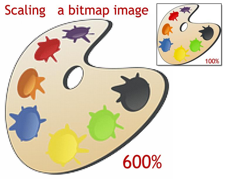 jpg transparent library Vector defintion bitmap. Vs images