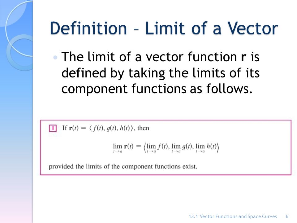 banner Vector defintion function. Chapter functions and