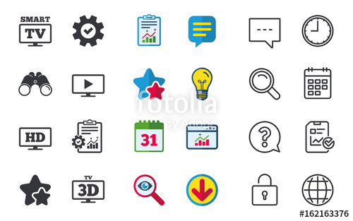 graphic library library Vector defintion resolution. Smart tv mode icon