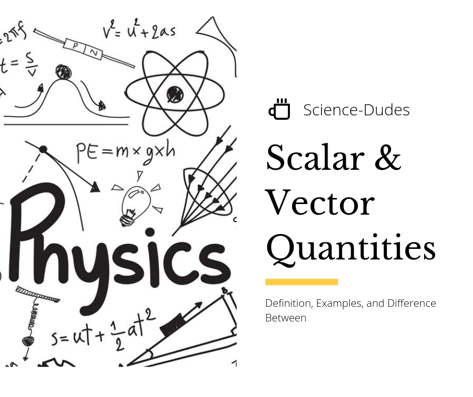 jpg Scalar and quantities definition. Vector defintion science