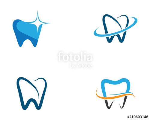 graphic black and white Vector dental art. Symbol icon stock image
