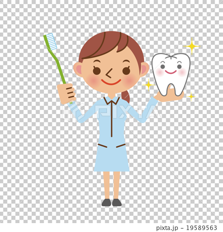 graphic library download Image of hygienist stock. Vector dental assistant