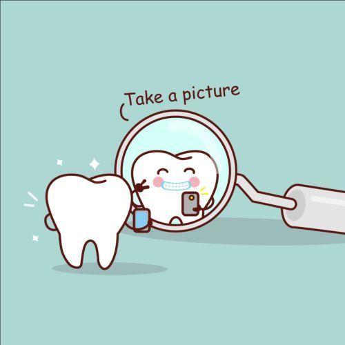 svg royalty free download Vector dental cute. Cartoon tooth design www