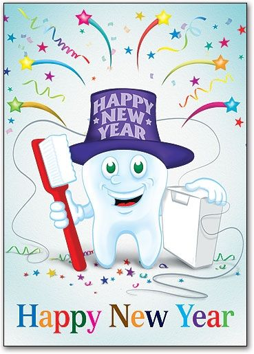 clip royalty free library May every day of. Vector dental happy new year
