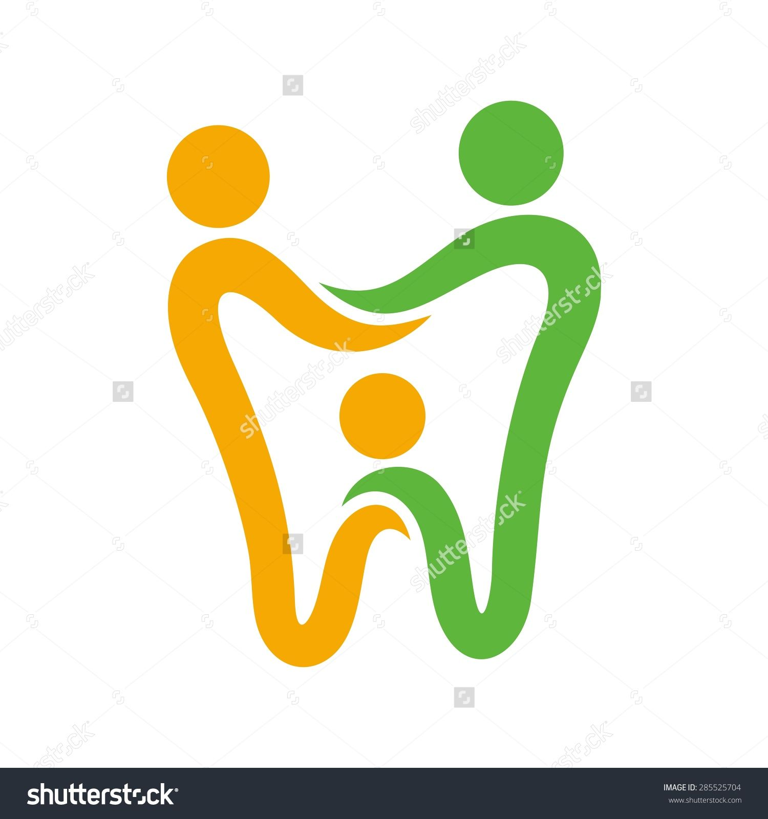 image download Logo dentist icon clinic. Vector dental surgery symbol
