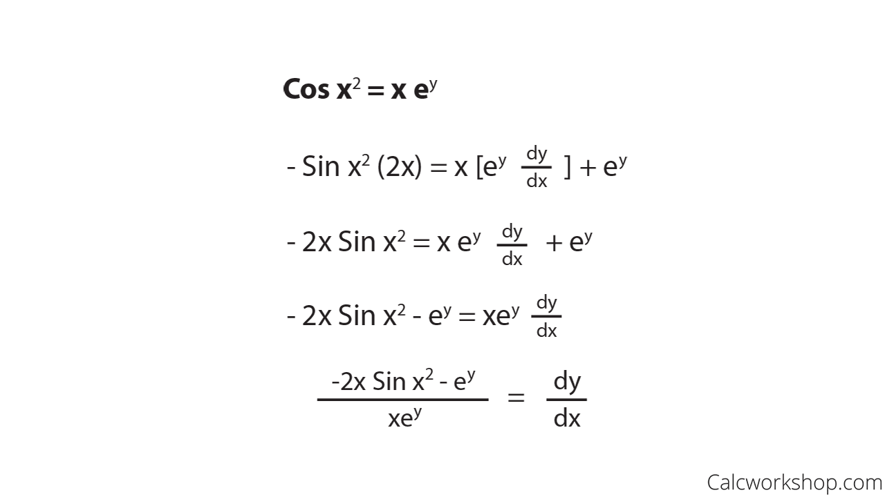 black and white download Learn how to do. Vector derivatives implicit differentiation