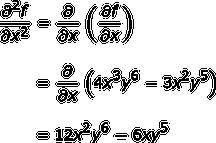clip art library stock Higher order partial definition. Vector derivatives mixed