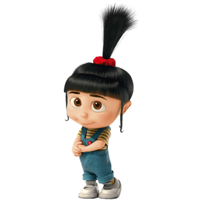 clip royalty free library Agnes gru wiki fandom. Vector costume despicable me