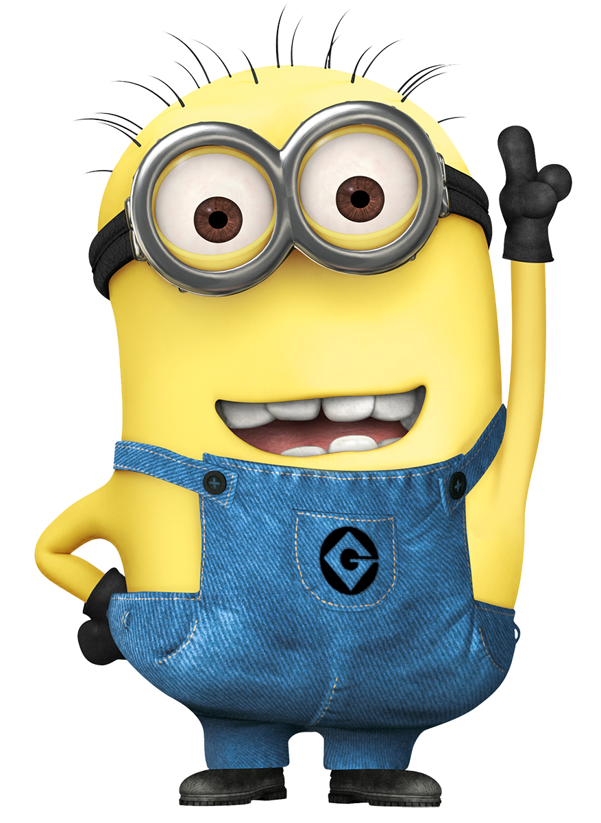 clip art black and white Minions
