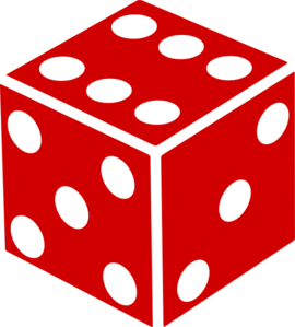 graphic royalty free library Six Sided Dice Clip Art at Clker