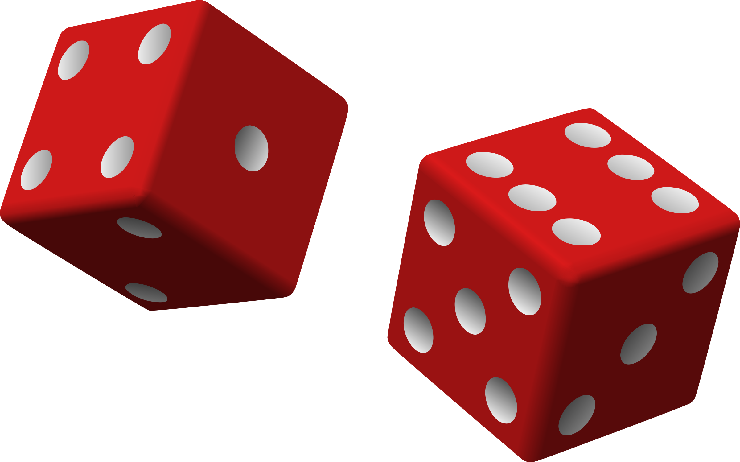 png black and white stock Two red dice Icons PNG