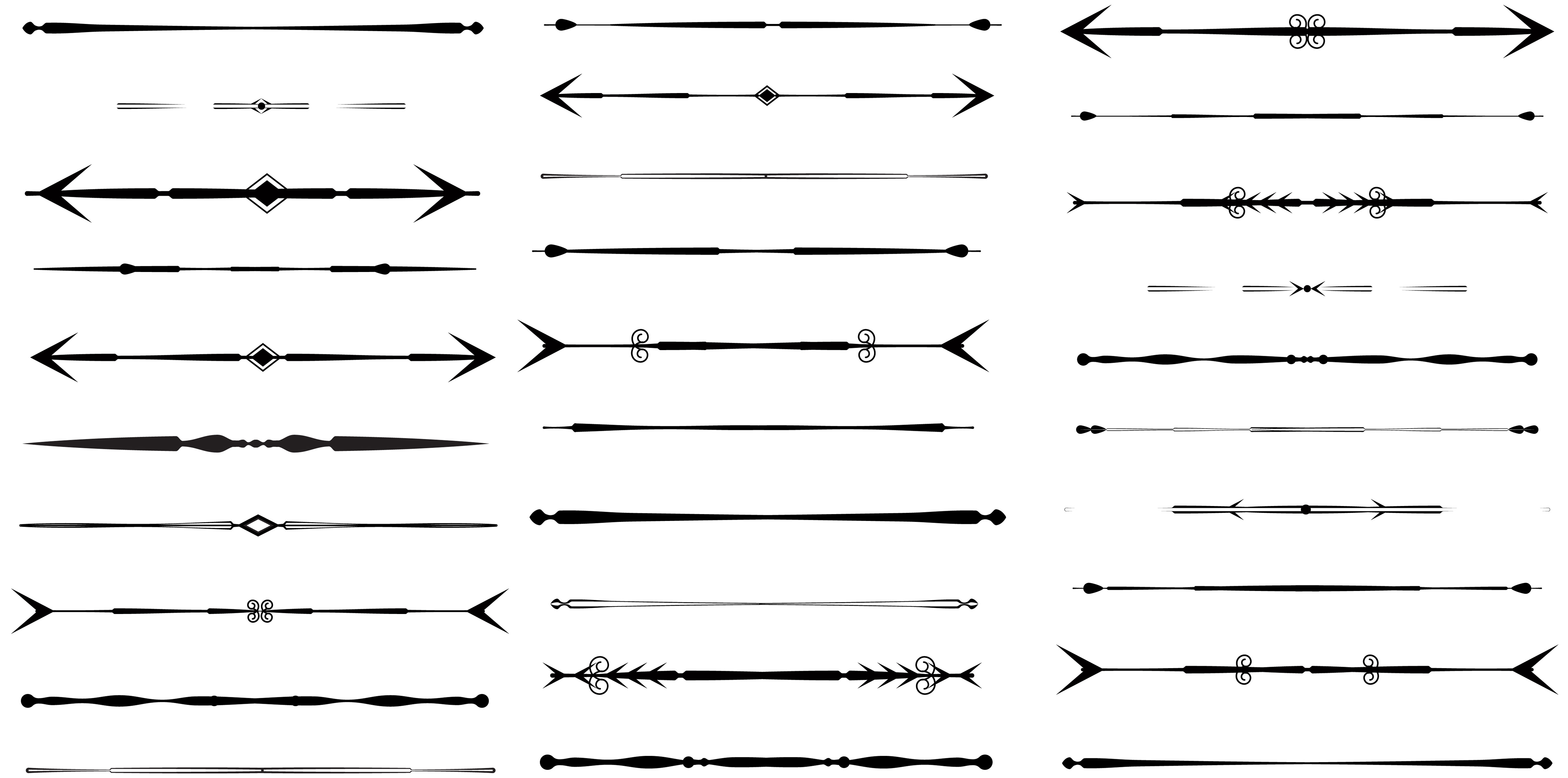 clip art library download Design clip art library. Vector dividers arrow