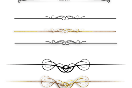 picture library Divider lines k pictures. Vector dividers art deco