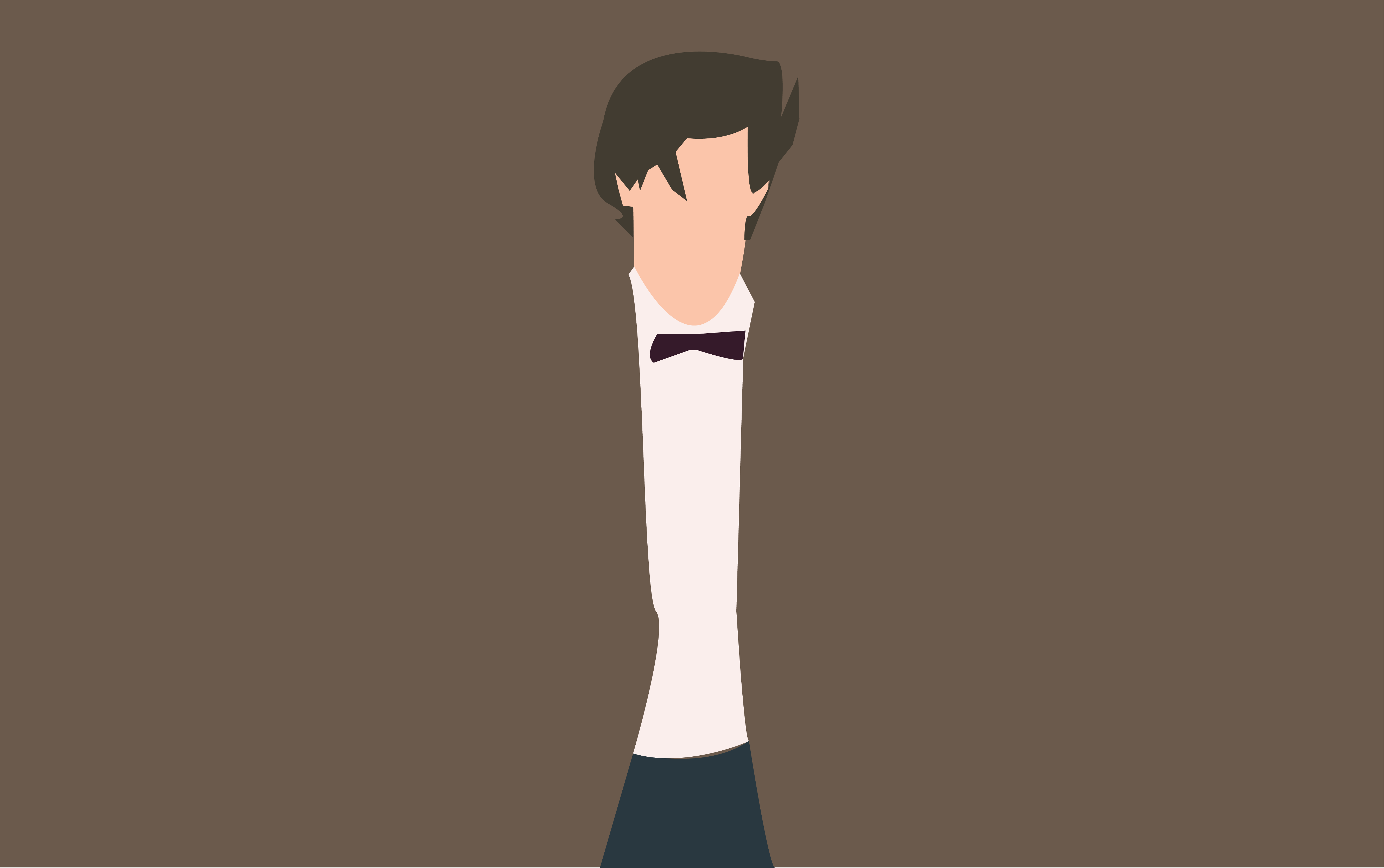 vector library library Vector doctor 11th. Minimalistic characters album on