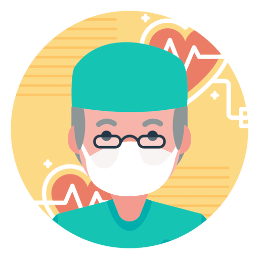 clip stock Vector doctor character. Old transparent png svg