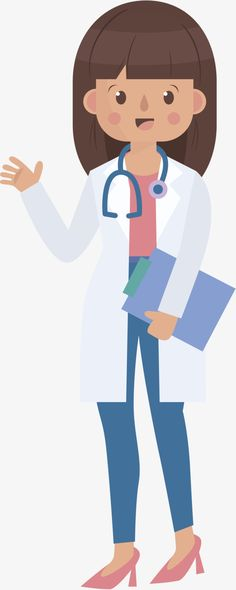 jpg royalty free  best images female. Vector doctor drawing.