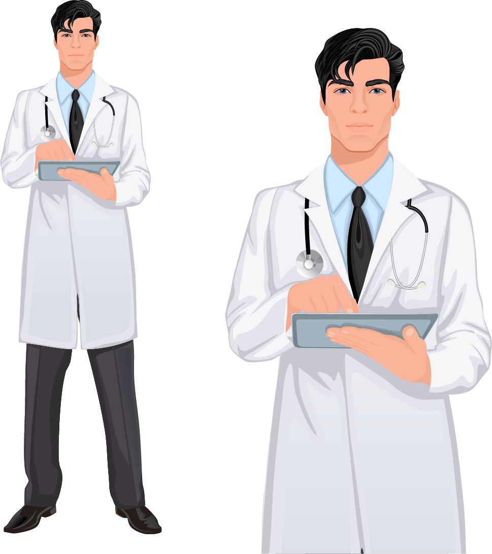 clipart freeuse stock Vector doctor handsome. Stock photography physician royalty