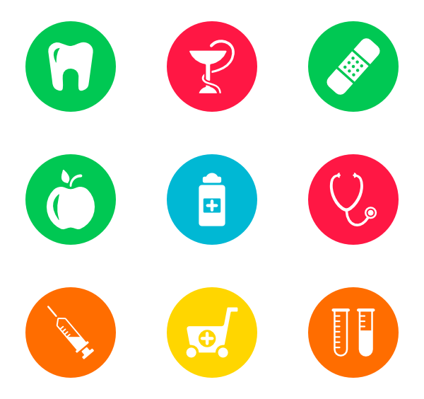 clipart free Vector doctor icon. Icons free circles hospital