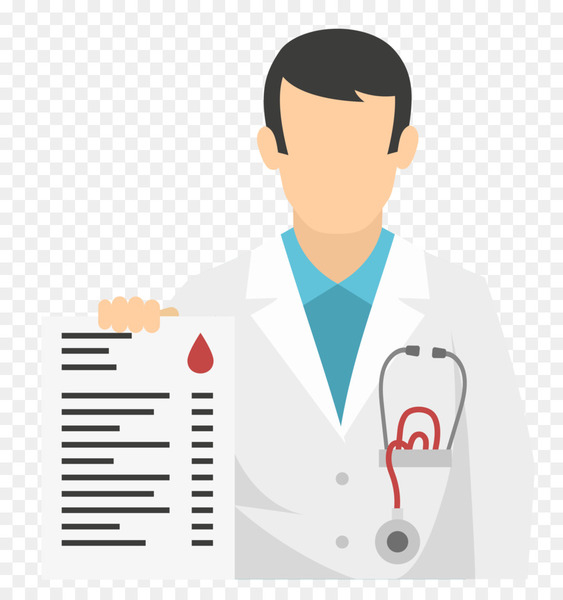 png transparent download Vector doctor infographic. Physician flat design icon