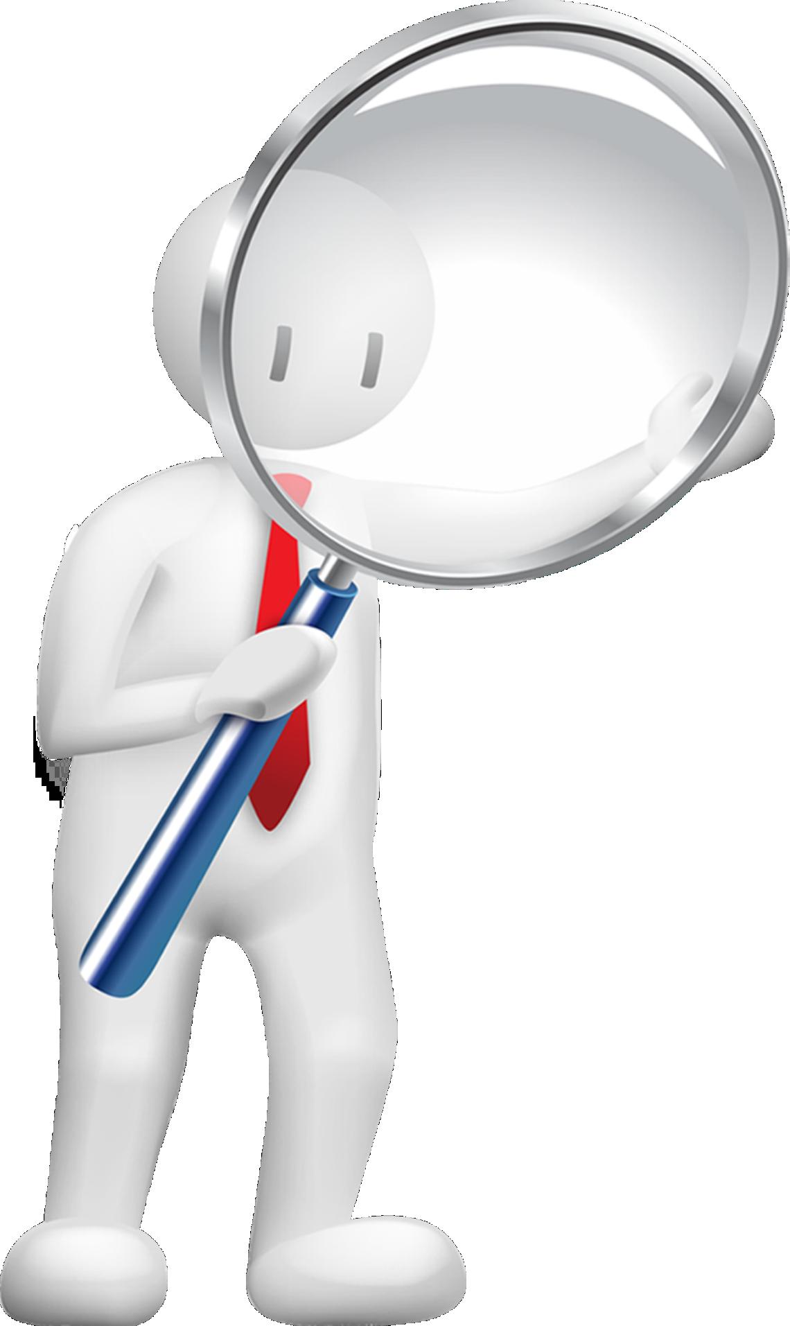 jpg stock Vector doctor magnifying glass cartoon. Template business information data