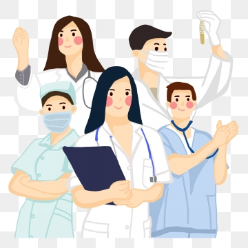 banner royalty free download Vector doctor nursing. Png psd and clipart