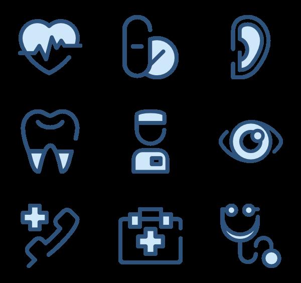 clip freeuse stock Nurse icons free health. Vector doctor nursing
