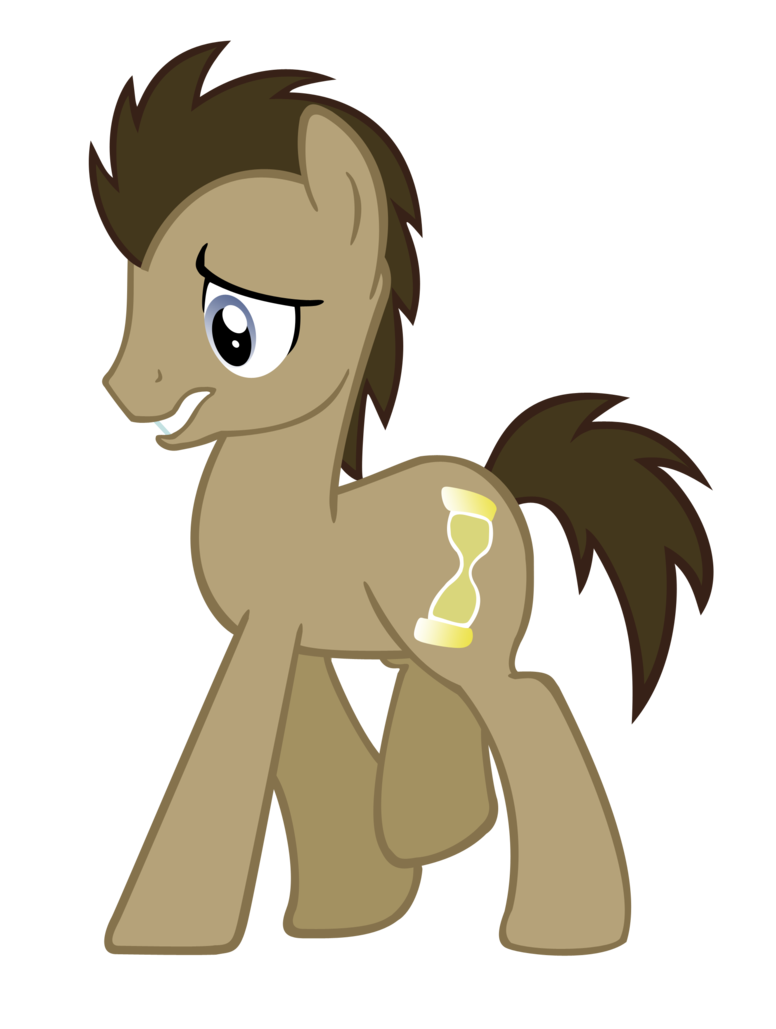 clip free stock Whooves by rayne feather. Vector doctor sad