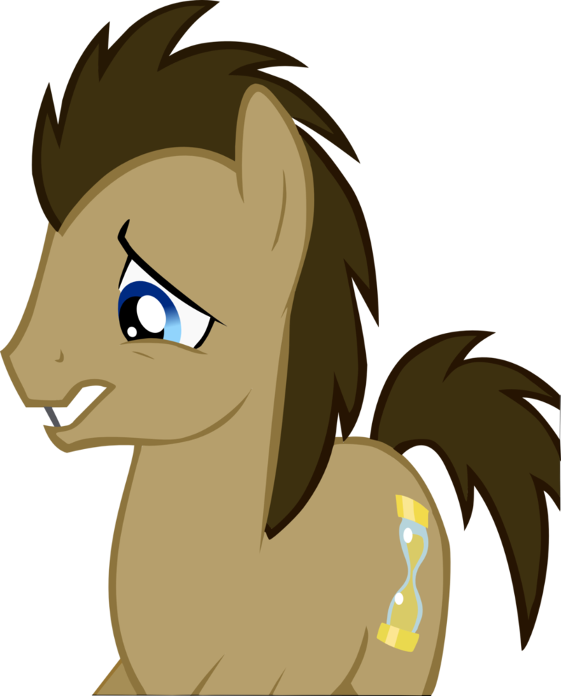 clip royalty free Vector doctor sad. Whooves by chisella on