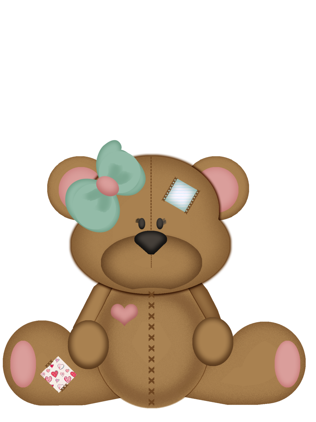 graphic free library Pin by marina on. Vector doctor teddy bear