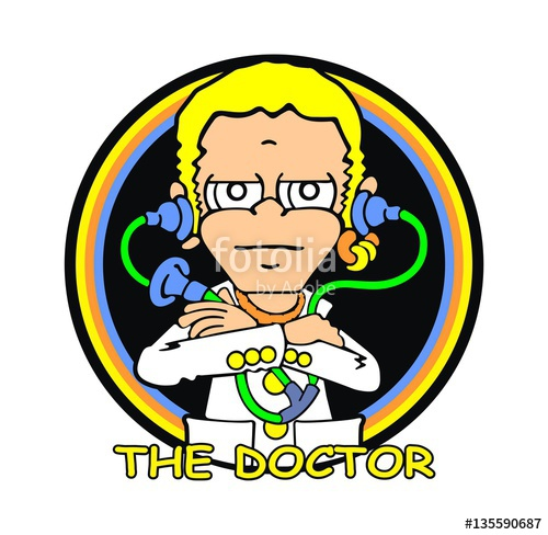clipart free download The stock image and. Vector doctor valentino rossi