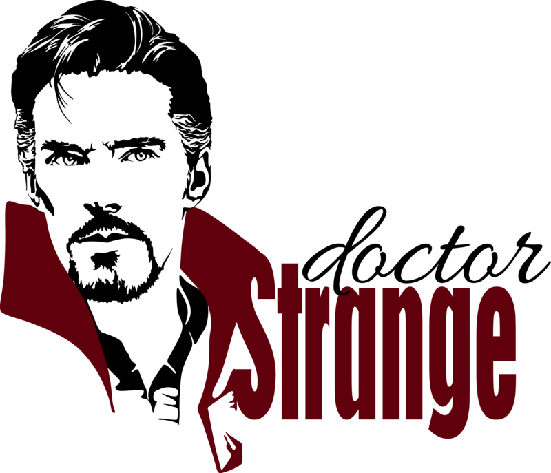 graphic black and white library Vector doctor wallpaper. Stephen strange by mad