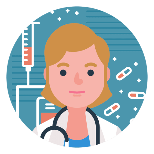 banner freeuse library Character doctor woman