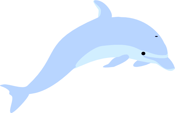 banner royalty free Blue grey free images. Vector dolphin coloured