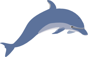 png royalty free download Clip art online royalty. Vector dolphin dxf