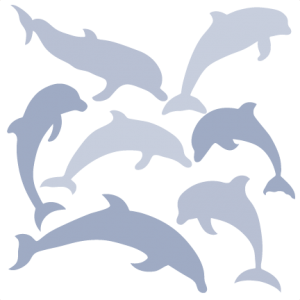 black and white Vector dolphin dxf. Beach ocean miss kate