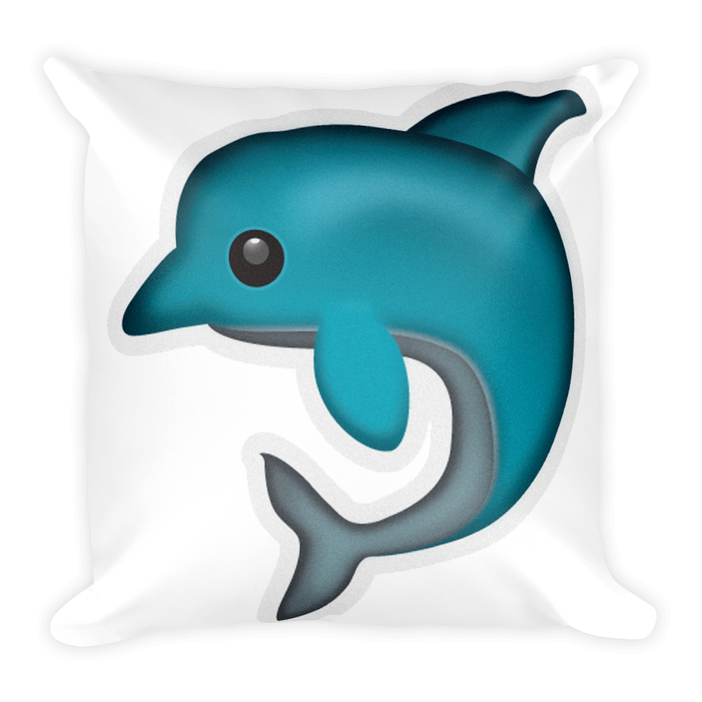 vector freeuse stock Vector dolphin emoji.  png for free