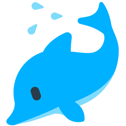 image black and white stock  png for free. Vector dolphin emoji