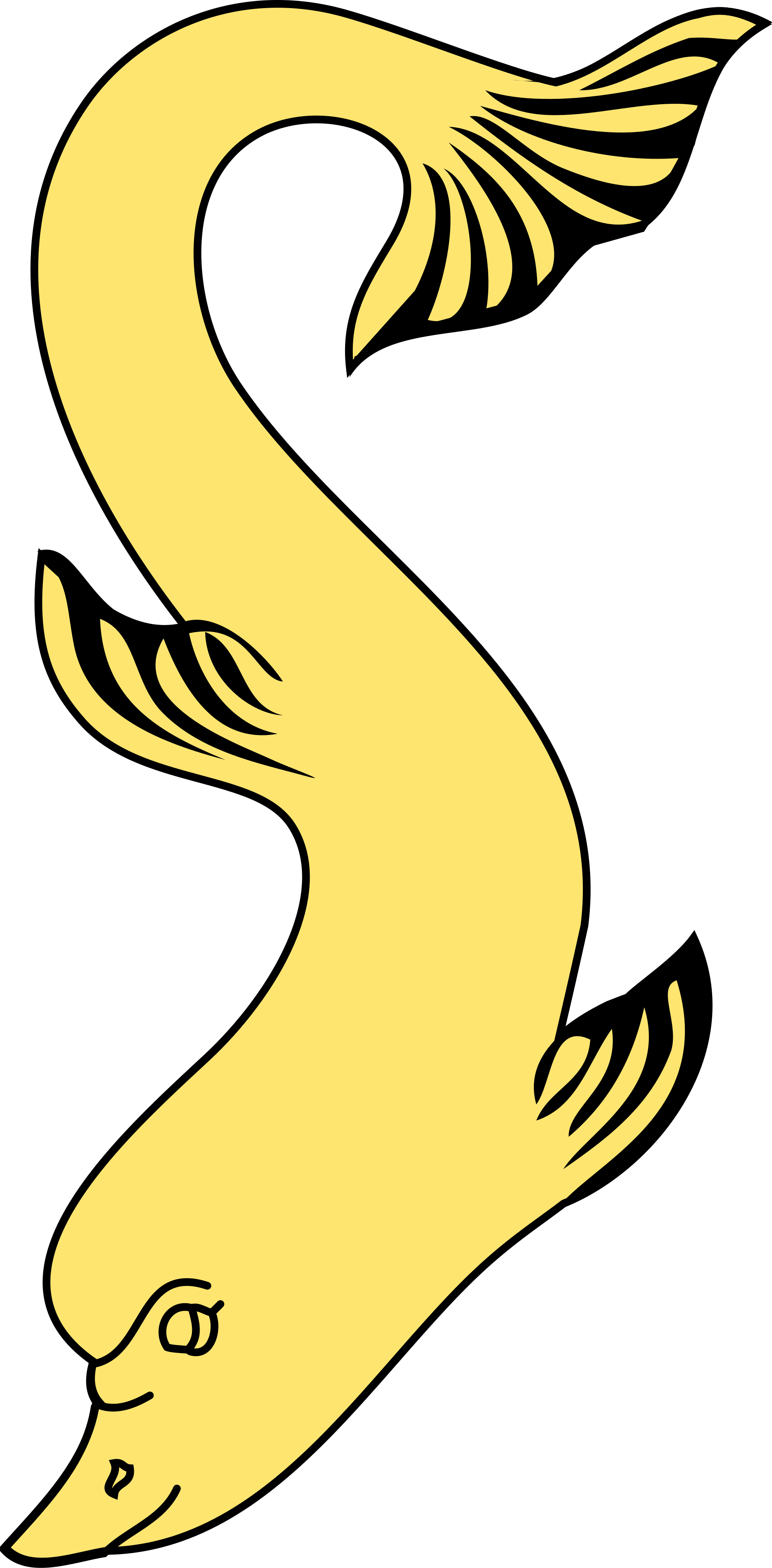 clipart royalty free Vector dolphin heraldic. File heraldry svg wikimedia