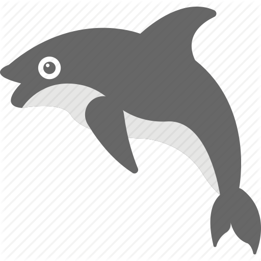 jpg freeuse stock Vector dolphin illustrator. Occean and sea life