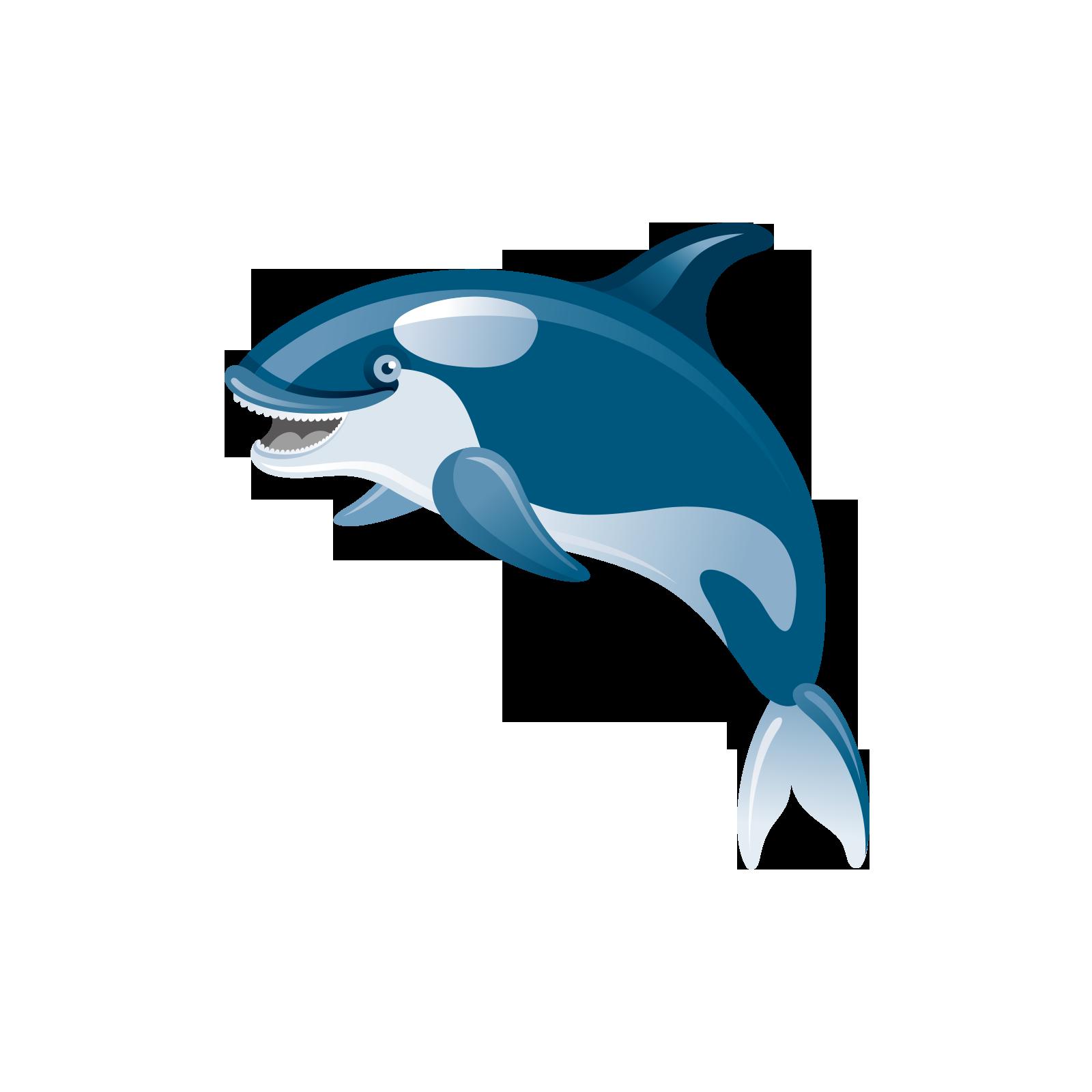 clip library Shark Common bottlenose dolphin Icon